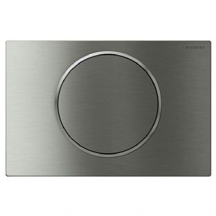 Geberit Sigma10 Stainless Steel Single Flush Plate - 115.758.SN.5